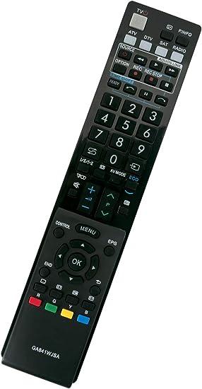 ALLIMITY GA841WJSA Control Remoto reemplazado por Sharp AQUOS TV ...