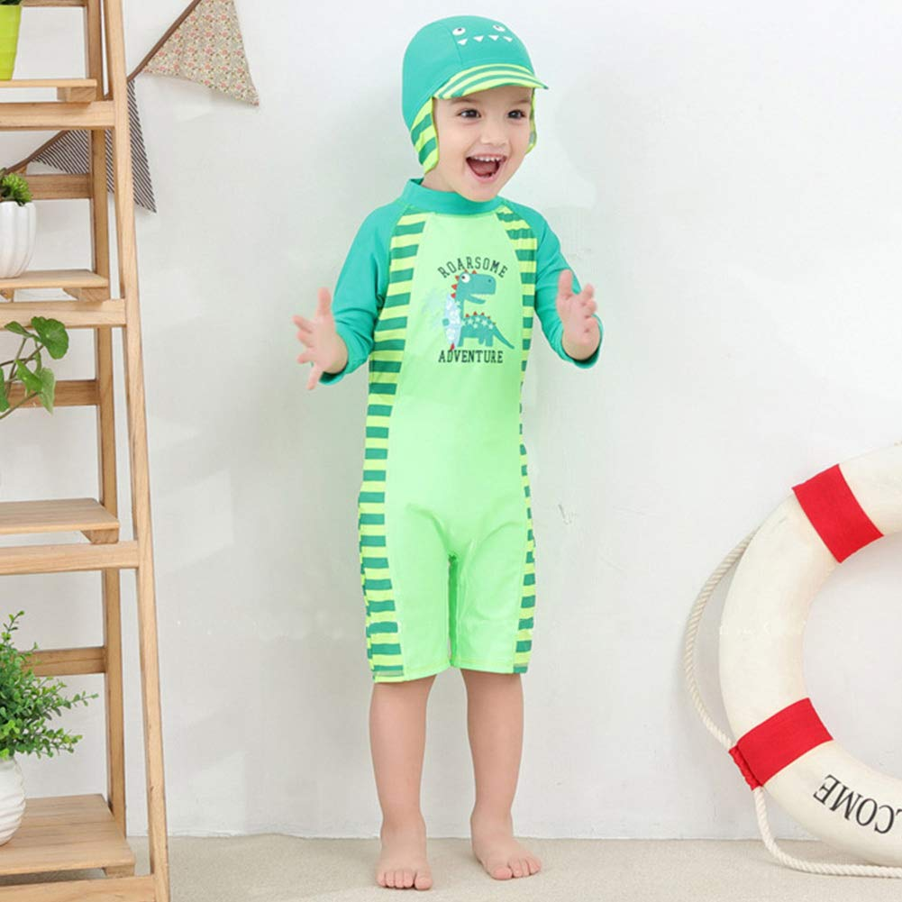 Clothing & Accessories Happy Cherry Boys Kids One-Piece Swimsuit Sun Protection Summer Sunsuit