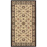 Safavieh Courtyard Collection CY6126-26 Black and Cream Indoor/Outdoor Area Rug (4′ x 5'7″) Review