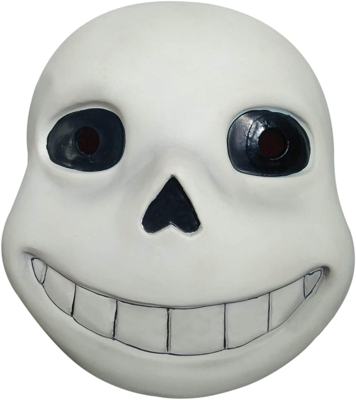 Undertale Sans Luminous Mask Sans Papyrus Led Mask Cosplay Halloween Props Latex
