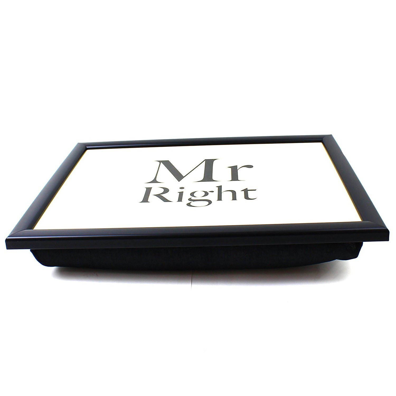Lap Tray Bean Bag TV Breakfast Bed Student Dinner Laptop Cushion Mr Right Lesser & Pavey GG1207611