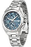 Secteur No Limits 950hommes de montre à quartz avec affichage analogique et bracelet en acier inoxydable Argenté Cadran Bleu r3273981001