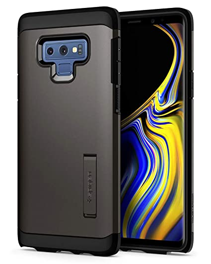 arrives a265e 8d12f Spigen Tough Armor Designed for Galaxy Note 9 Case (2018) - Graphite Gray