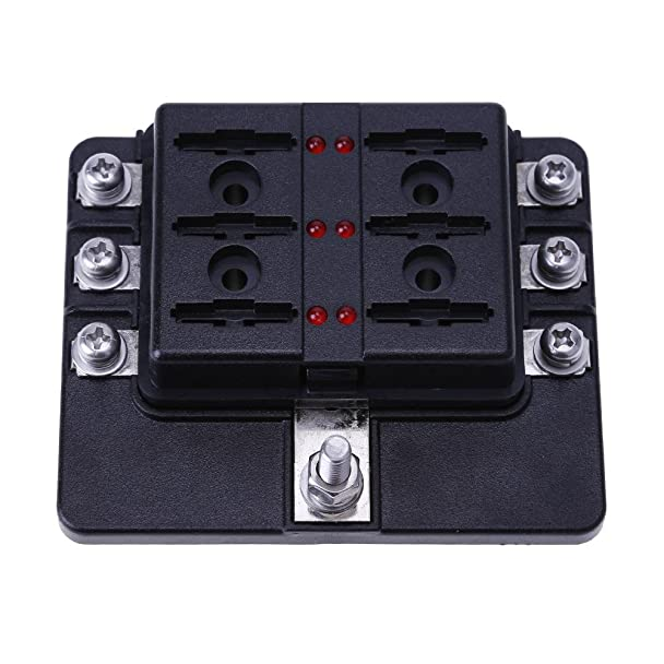 61pvL7JYB1L._SX608_ amazon com blade fuse box ,awakingdemi 12 32v auto car boat 6 way  at bayanpartner.co