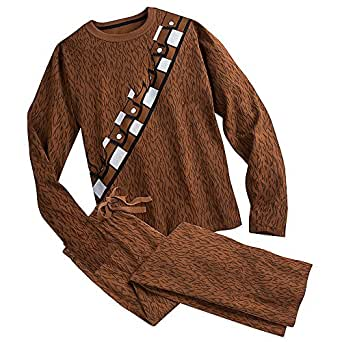 Star Wars Chewbacca Costume Sleep Set for Adults Size MENS L Brown 449011359453