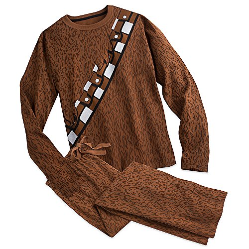 Star Wars Chewbacca Costume Sleep Set for Adults Size MENS XXL Brown (Star Wars Chewbacca Costume)