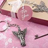75 Guardian Angel Metal Key Chains Religious Favors