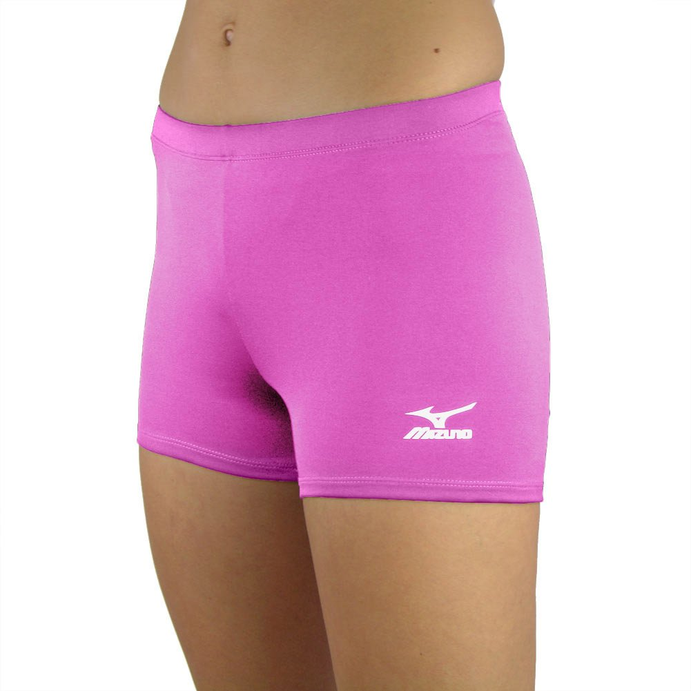 Mizuno Low Rider Volleyball Short, Pink, X-Small