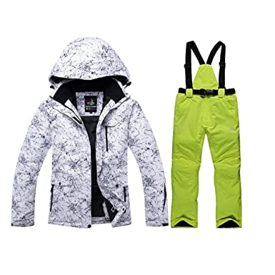 e3f1f71221 Fashion New Men Women s High Waterproof Windproof Snowboard Ski Jacket and  Pants(with a Wool
