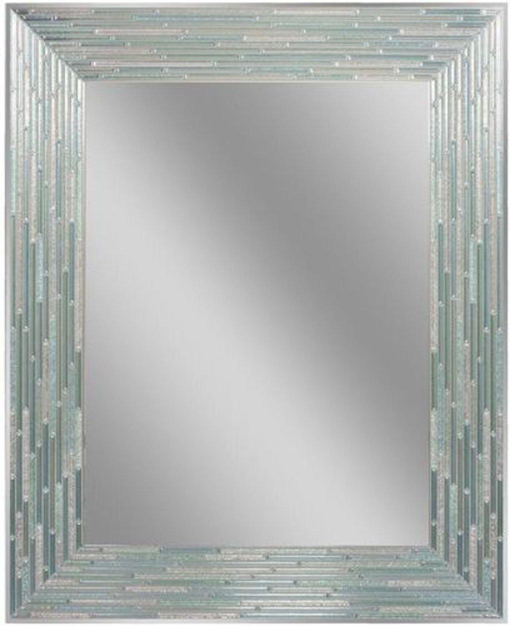 Headwest Reeded Sea Glass Wall Mirror, 24'' x 30''