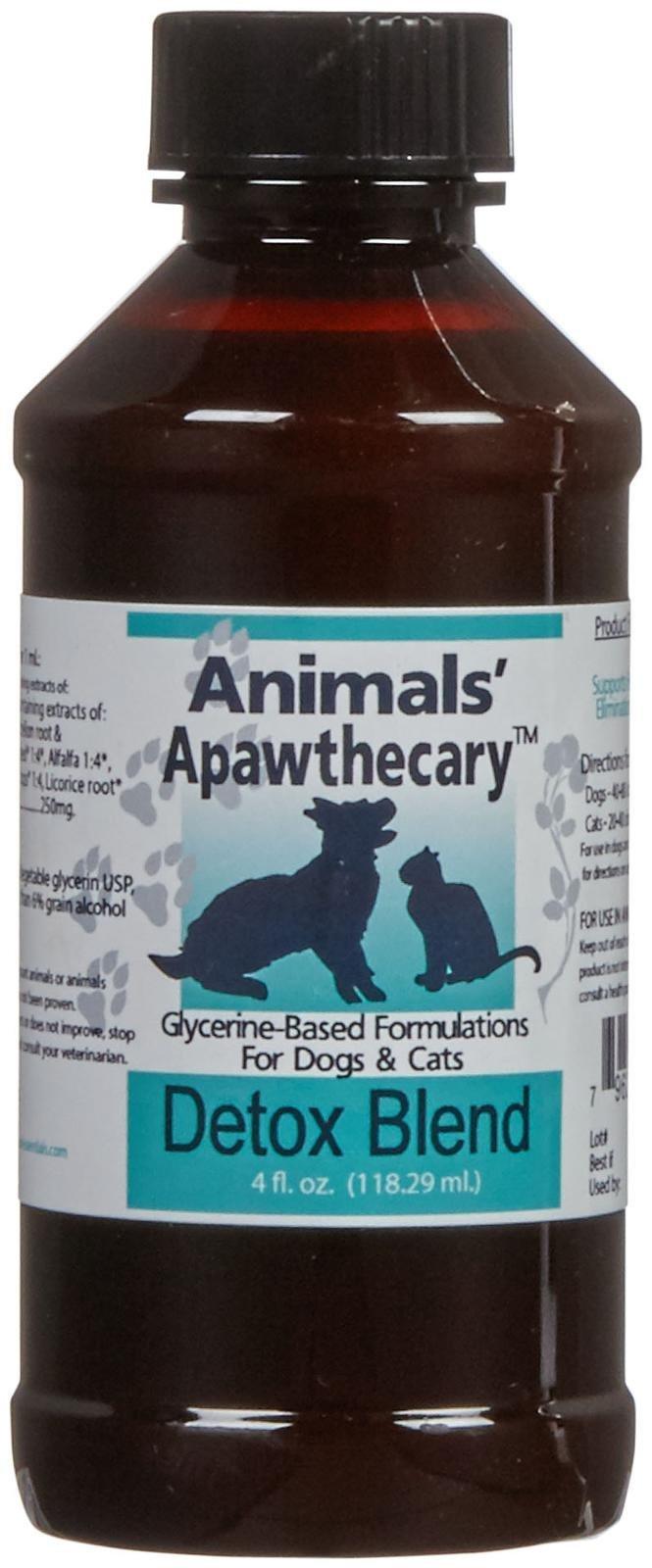 Animal Essentials Apawthecary Detox Blend Supplement, 4 oz