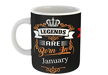 Buy Mugs4You Best Birthday Gift Idea Legends Are Born In January