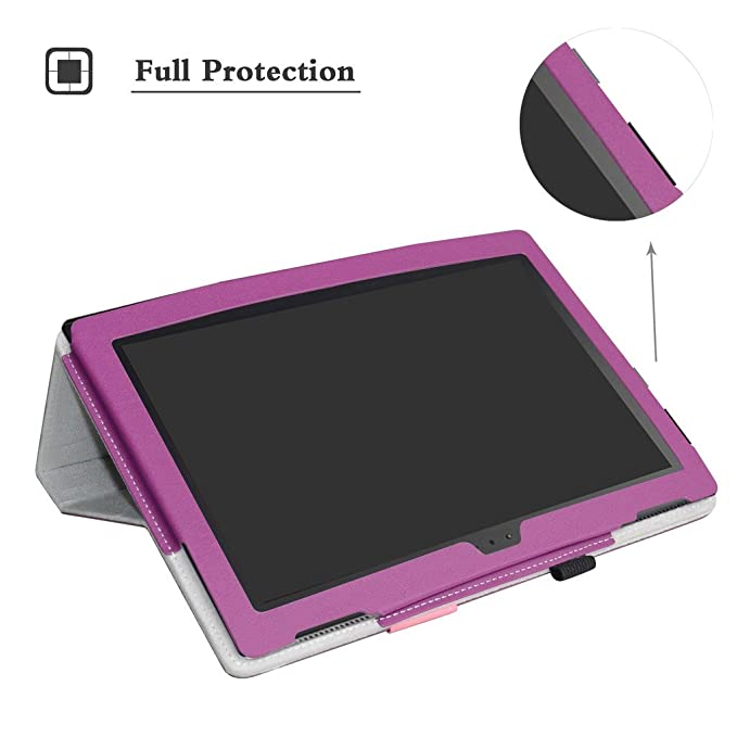 Lenovo Tab 4-10 Inch Wireless Keyboard Case,Mama Mouth Slim Stand PU Leather Cover With Romovable Wireless Keyboard For 10.1