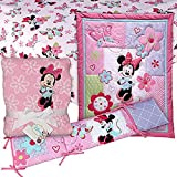 Minnie Mouse Crib Bedding Set with Bumper and Blanket