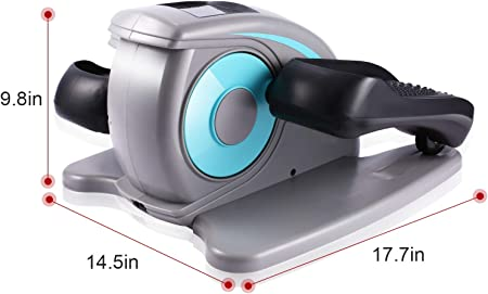 side facing ancheer under desk elliptical