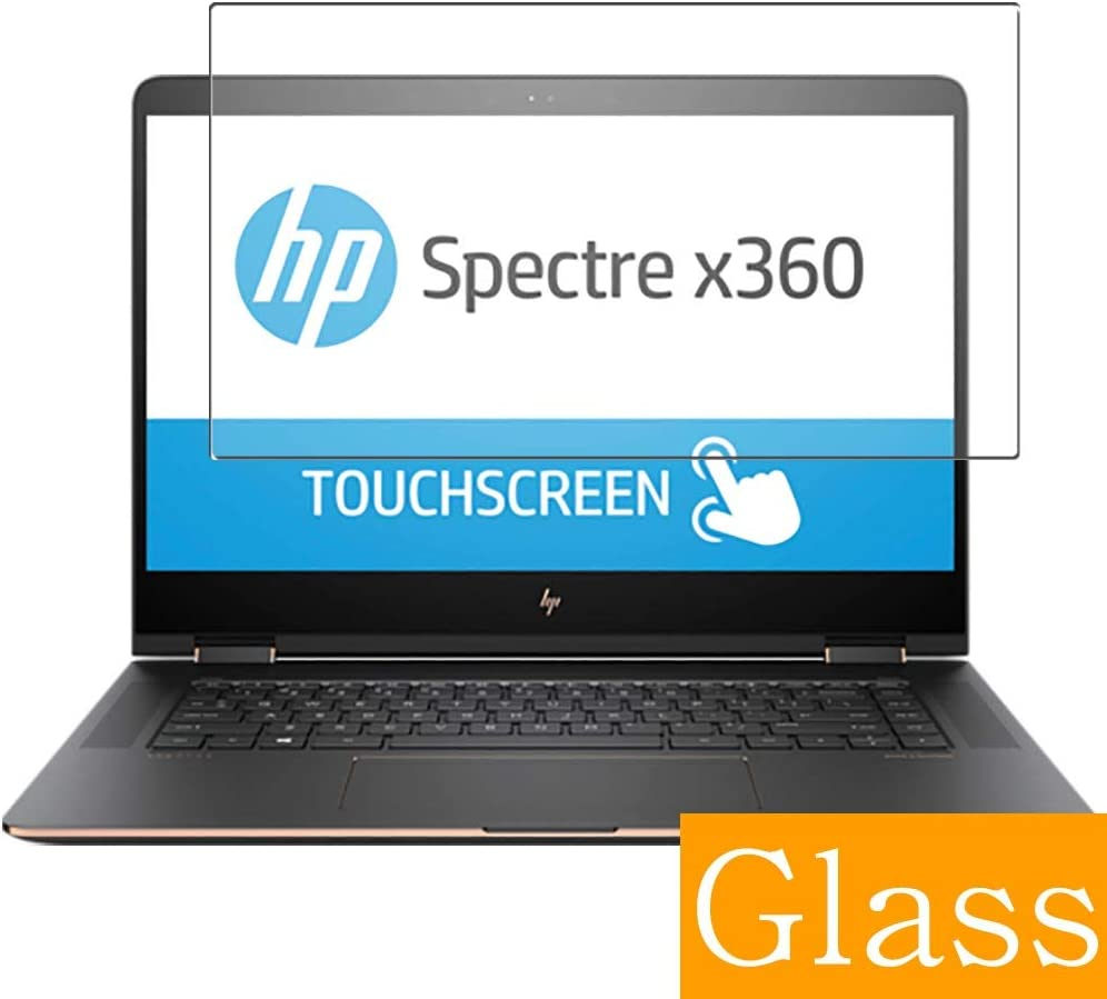 """Synvy Tempered Glass Screen Protector for HP Spectre x360 15-bl100 / bl112dx / bl152nr / bl101na / bl100nx 15.6"""" Visible Area Protective Screen Film Protectors"""