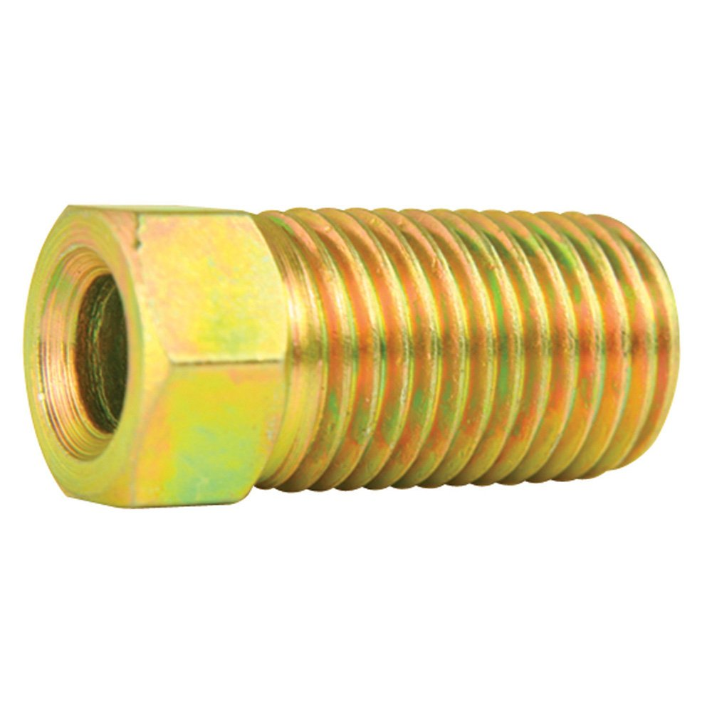 Steel Tube Nuts, Long - 3/16' Line - SAE 3/8' X 24 thread - Inverted Flare - Pack of 10 Long - 3/16 Line - SAE 3/8 X 24 thread - Inverted Flare - Pack of 10 4LifetimeLinesTM