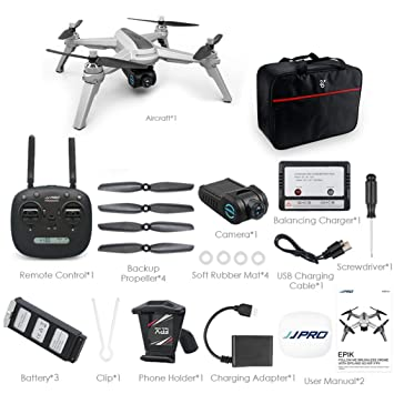LouiseEvel215 RC Drone Quadcopter 1080P 5G WiFi FPV Avión Aviones ...