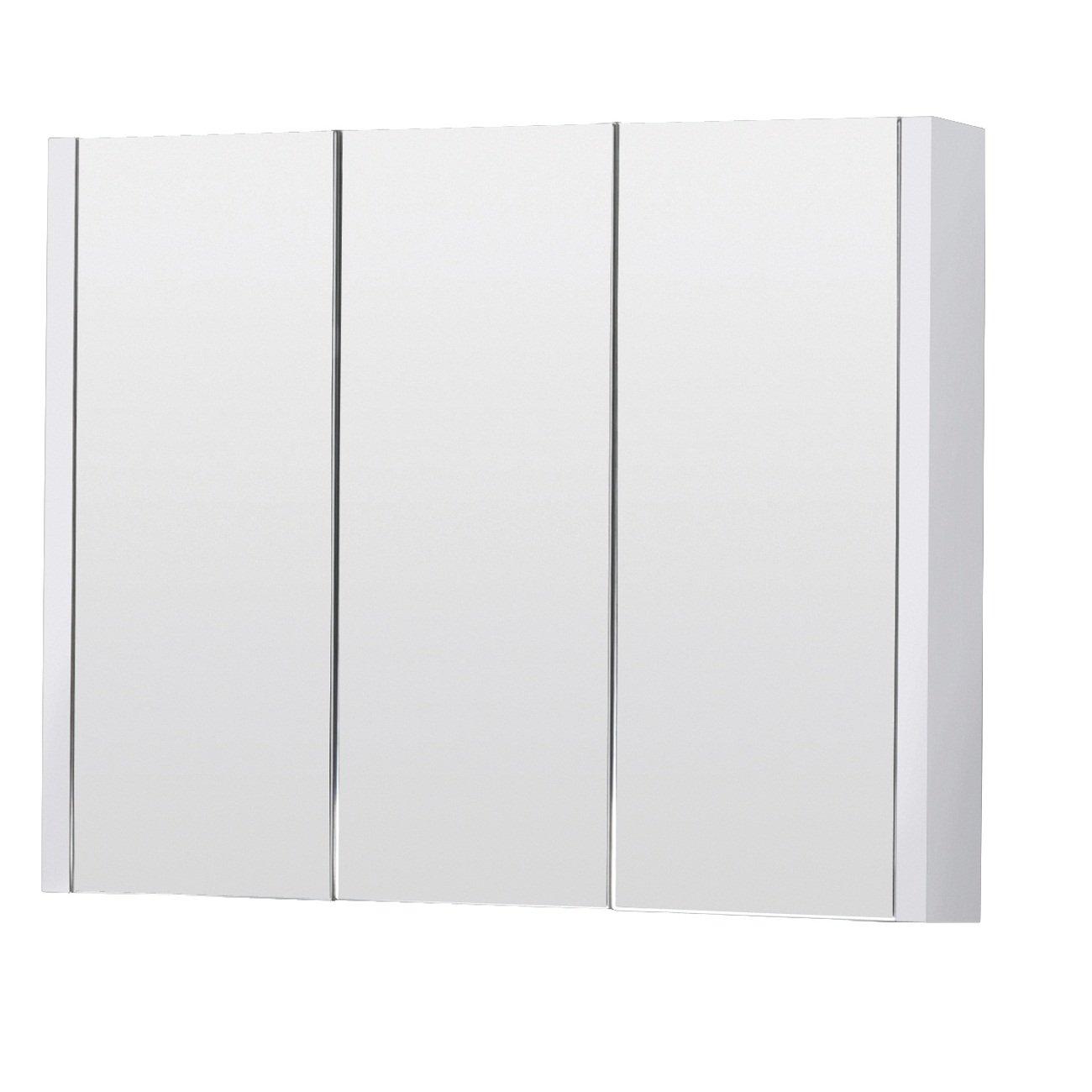 Premier Cardinal 2 Door Mirror Cabinet: Amazon.co.uk: Kitchen & Home