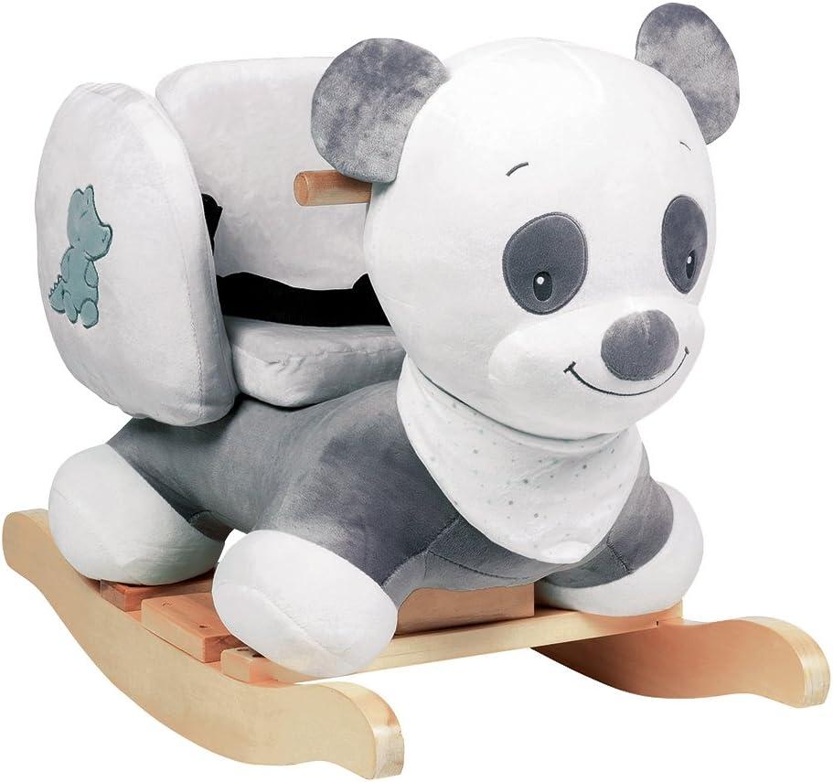 Nattou Balancín Loulou el Panda, 17 - 17 meses, 17 x 17 x 17 cm, Gris/Blanco