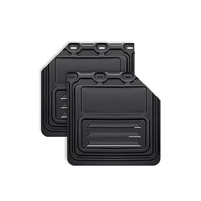 "Mud Flap for Semi Truck & Semi Trailer 24"" x 24"" - 1 Pair (2 pcs) (Cut): Automotive"