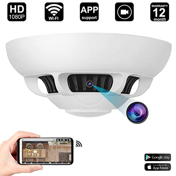 WiFi Hidden Camera Detector 1080P HD Mini Camera Motion Activated Home Security System WiFi Live Stream