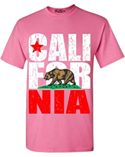 58e0bad7bd6256 YM Wear California Republic Vintage Distressed Bear T Shirt