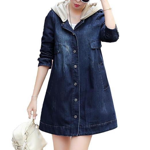 Amazon Com Women S Plus Size Long Sleeve Double Breasted Coat