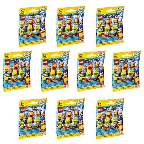 10 Packs LEGO Minifigures The Simpsons Series 2 (71009) Building Kit]()