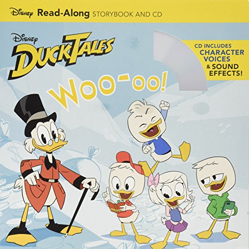 DuckTales: Woo-oo! Read-Along Storybook and