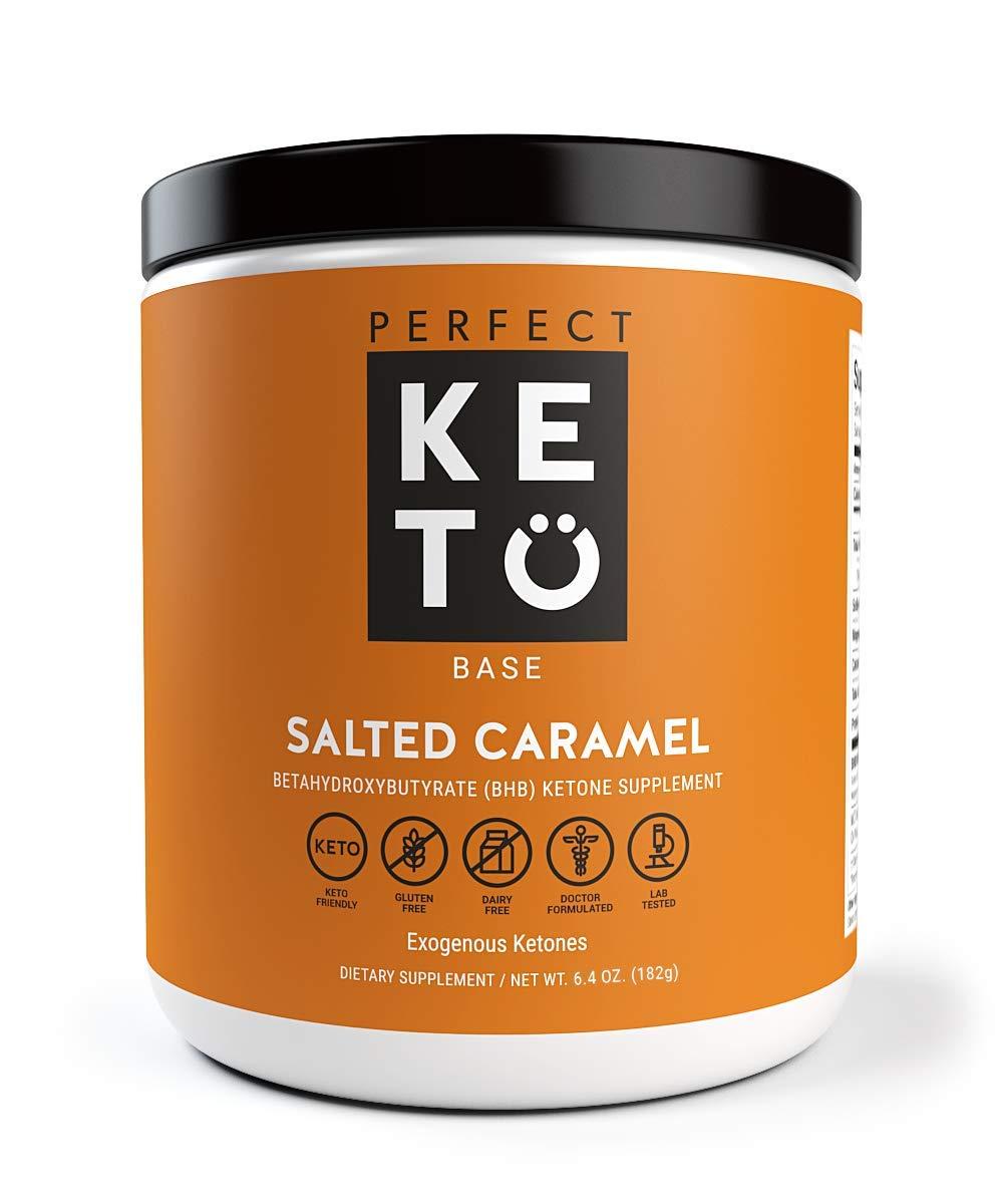 Amazon.com: Perfect Keto Peach Exogenous Ketones: Base BHB ...