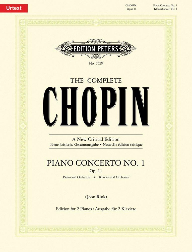Read Online Piano Concerto No.1 in E Minor Op.11 pdf