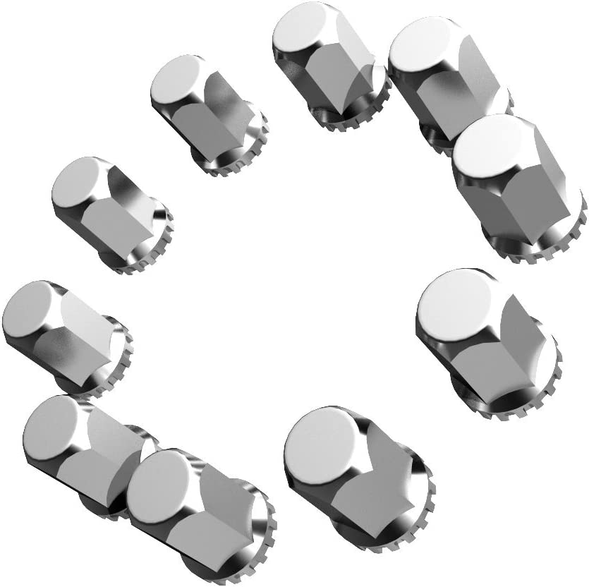 QuickSilver Big Iron Model Truck Hex Nut Covers 33mm Thread-on