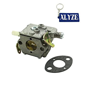 XLYZE Small Gas Engine Carb Carburetor For Tecumseh 640347 TM049XA TC200  TC300 Ice Auger 50667