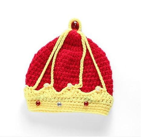 Couronne Royale Chapeau Mode Unisexe Nouveau Né Garçon Fille