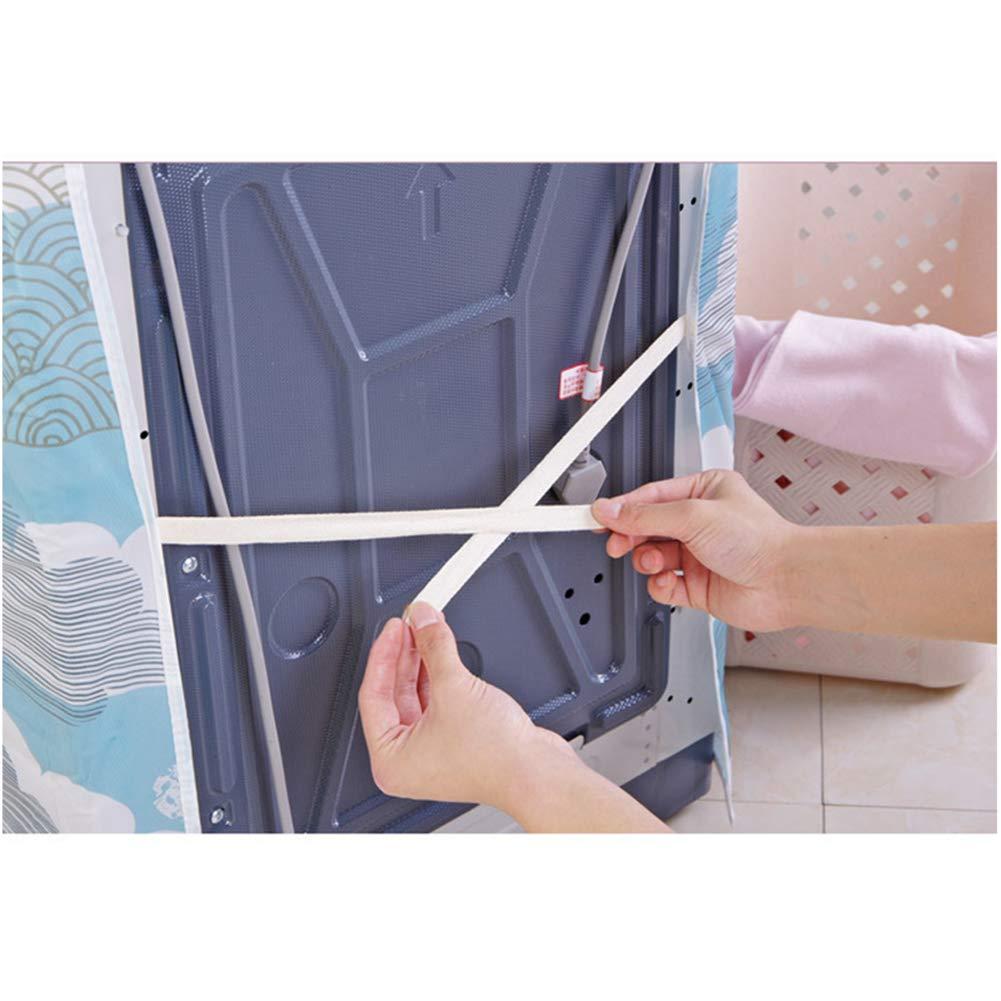 GFEU Funda protectora para lavadora, resistente al agua y transpirable A la moda Style E: Amazon.es: Grandes electrodomésticos