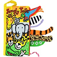 Baby's Early Learning Educational Toys Non-Toxic Soft Cloth Book Baby Cloth Book Kids Animal Tail