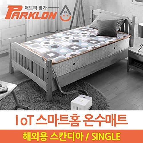 Parklon 電気温水マットレスパッド_Sacandia Design _シングルサイズ_110v B076KDY3WS