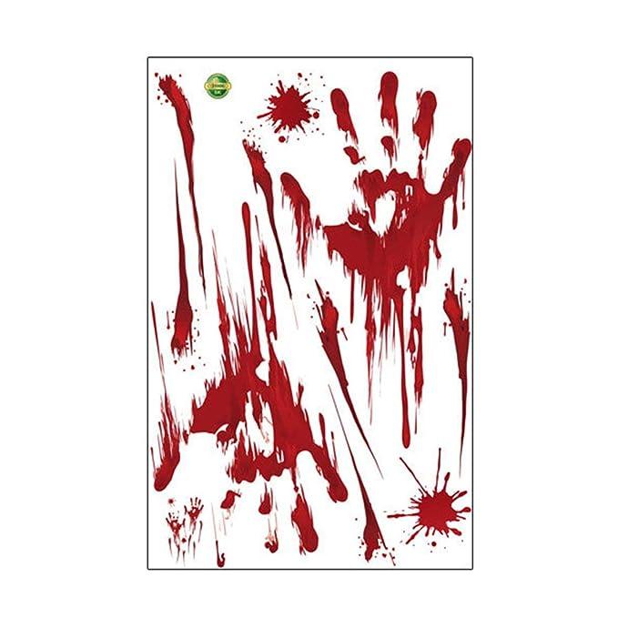 FancyswES8eety Horror Realista Lesión de Sangre Cicatriz Herida ...