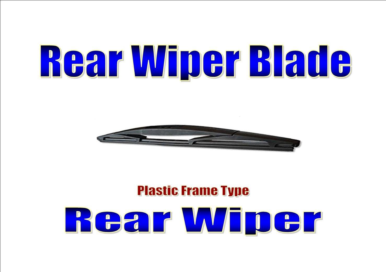 Civic Estate Tourer Rear Wiper Blade Back Windscreen Wiper 2014-2017