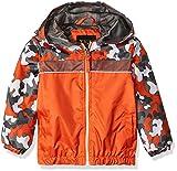 iXtreme Toddler Boys' Camouflage Windbreaker, Orange, 4T