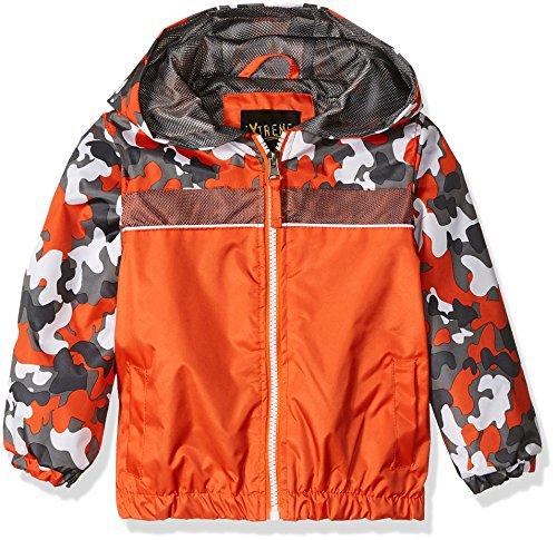 iXtreme Toddler Boys' Camouflage Windbreaker, Orange, 4T by iXtreme