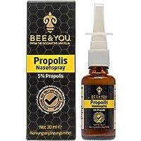 Bee & You Propolis Nasenspray 5% 30 ml (Wohltuende Zusammenmischung, Fairer Handel, Natürliche & kontrollierte Zutaten)