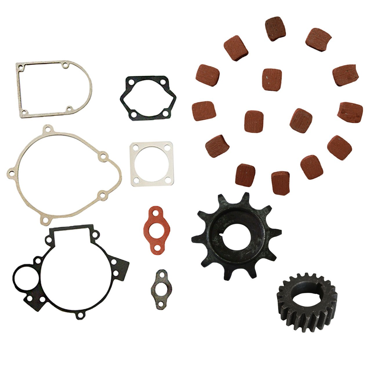 Clutch Gear Puller Gasket Set For 66cc 80cc Motorized Bicycle
