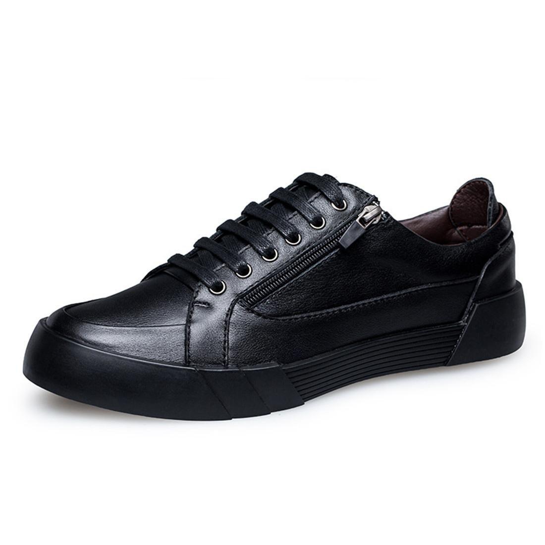 Herren Geschäft Lederschuhe Mode Lässige Schuhe Rutschfest Flache Schuhe Atmungsaktiv Lässige Schuhe Große Größe EUR GRÖSSE 38-46
