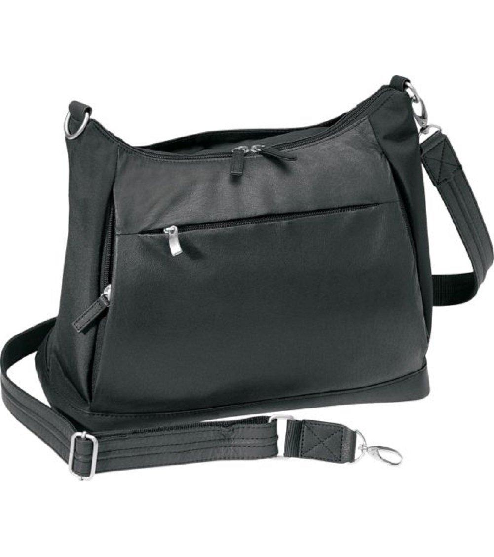 Gun Toten Mamas Concealed Carry Large Hobo Handbag, Black, One Size