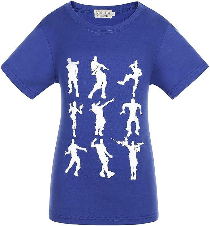 Emote Dances - Funny Gaming Parody Video Game Camiseta: Amazon.es ...