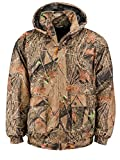 Trail Crest Men's Insulated & Waterproof Camo Hunters Tanker Jacket, 2X, Forest