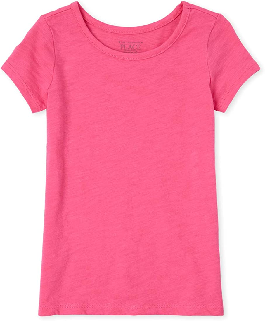 The Childrens Place Baby Girls Solid T-Shirts