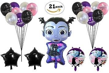 Amazon.com: Vampirina globos de cumpleaños suministros de ...